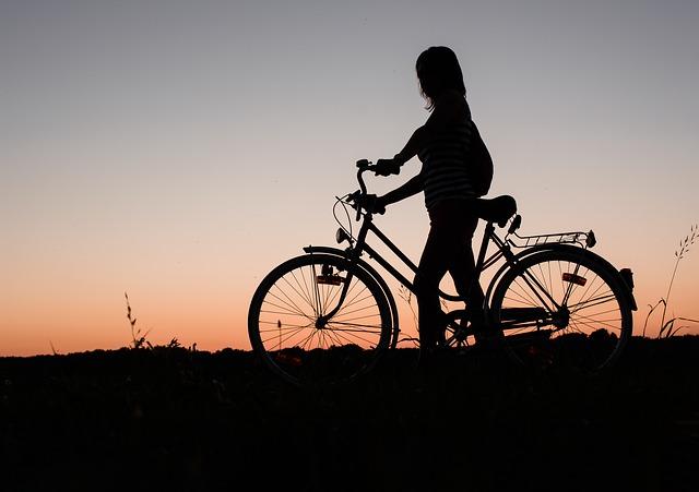 večení výlet na kole