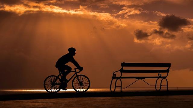 na kole romanticky