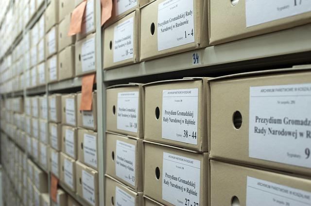 záznamy v archivu