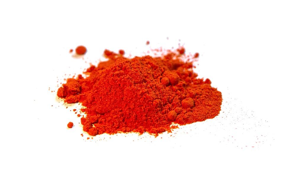mletá paprika